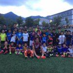 【7月度スペシャルコース】びわスポ大サッカー部の皆さんとの交流サッカーを開催しました!