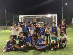 サッカースクール高学年スペシャルコース びわスポ大サッカー部の3選手によるクリニック 8/25