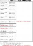 【スケジュール】5月の日程についてのお知らせ